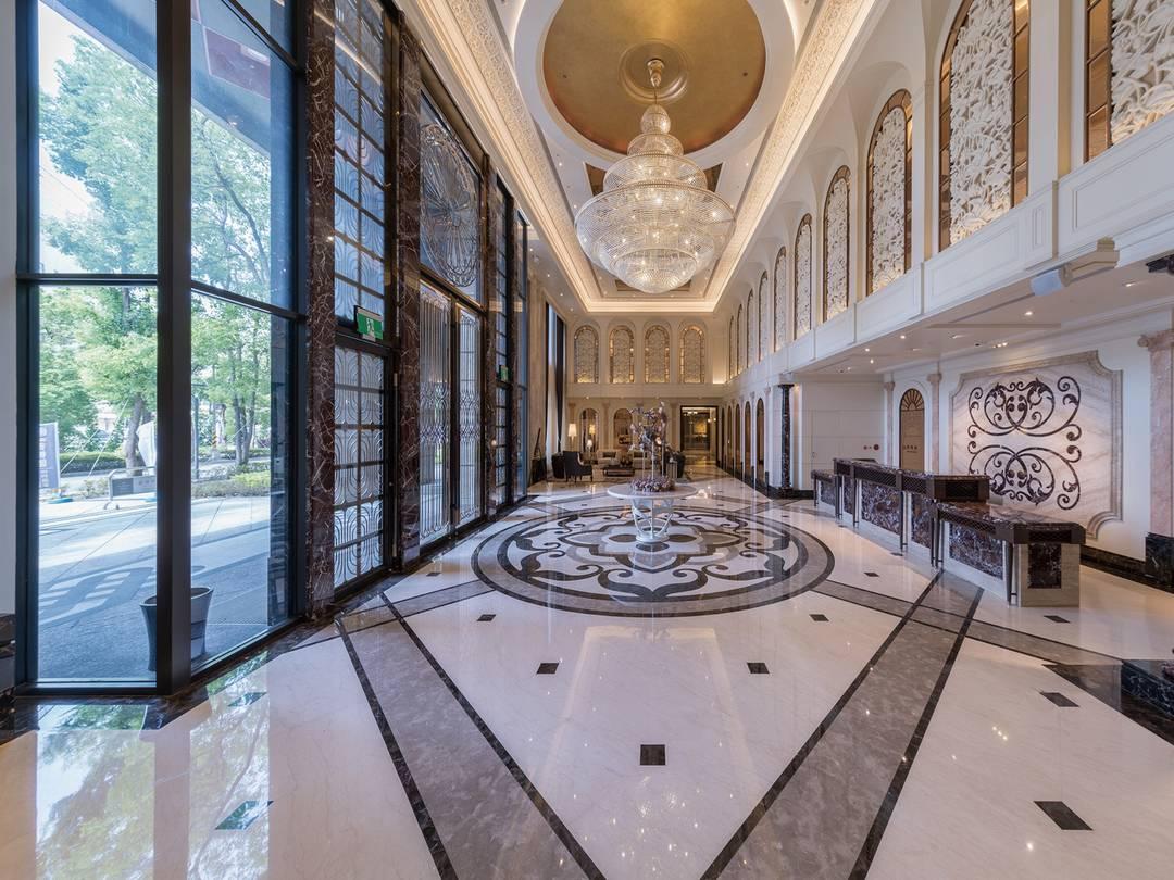 巴黎皇苑 迎賓⼤廳