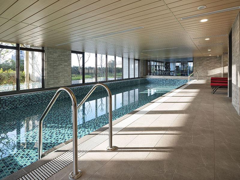 3F室內溫水泳池現場實景